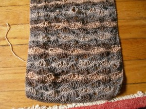 Putty Waves scarf
